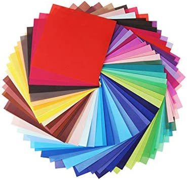 10 Farben quadratisch schillerndes Papier Origami-Papier Dekorationspapier quadratisches Glitzer-Faltpapier f/ür Bastelprojekte f/ür Kinder Milisten 100 Blatt gl/änzendes Origami-Papier