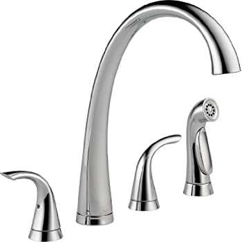 Moen 8244 Commercial M-Dura Kitchen Faucet with Side Spray