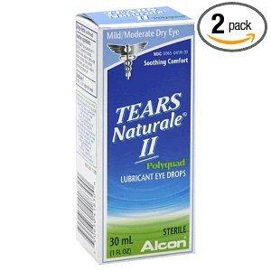Gouttes larmes Naturale II Polyquad oculaires lubrifiantes, bouteilles de 1 once (Pack de 2)
