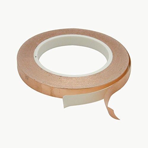 J.V. Converting CFL-5A/COP0536 JVCC CFL-5A Foil Tape: 1/2'' x 36 yd, Copper by J.V. Converting