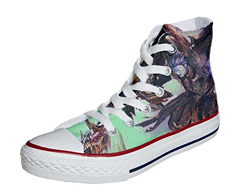 Converse All Star Customized - zapatos personalizados (Producto Artesano) Demon style