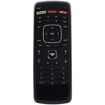 vizio led tv remote. vizio xrt112 factory original replacement smart tv remote control (amazon / netflix iheartradio) led tv o