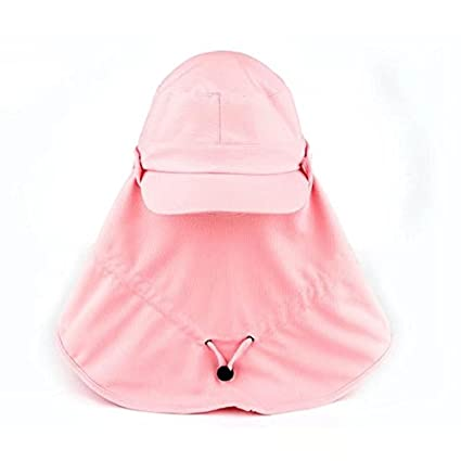 9b4bdd58 Vrcoco Outdoor 360 Degree Anti-UV Cap with a Shawl Neck Face Protection  Removable Sun