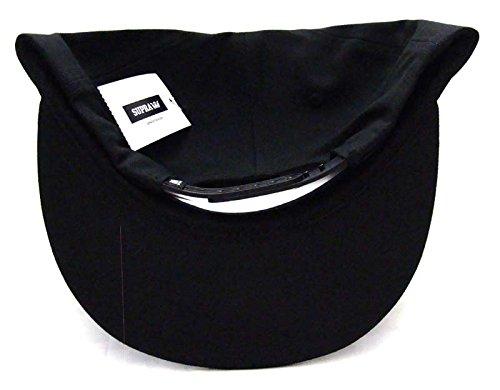 Supra Scribble Snapback Cap Hat Black