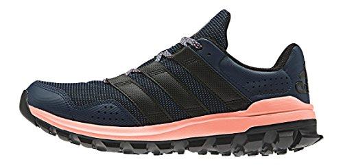 adidas Damen Slingshot TR M Laufschuhe Blau / Schwarz / Rot (Azumin / Negbas / Brisol)