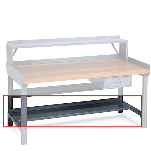 Tremendous Edsal 5602 16 Gauge Steel Work Bench Lower Shelf 60 Width Evergreenethics Interior Chair Design Evergreenethicsorg