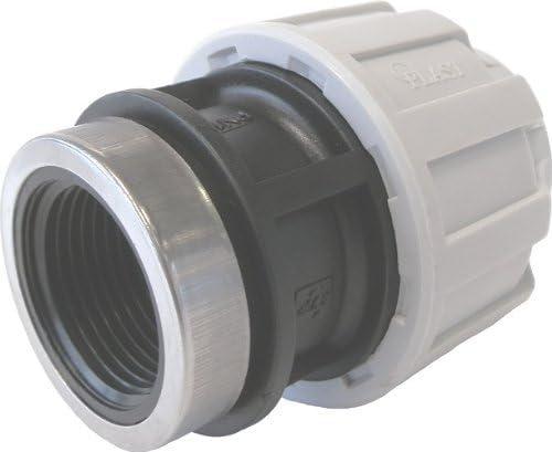 Sirocco 08335147 PP Kupplung mit Innengewinde 40 mm x 1 Zoll