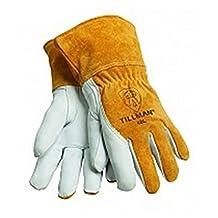 Tillman 48 Top Grain Goatskin, Cowhide, Fleece Lined MIG Welding Gloves - Medium by Tillman