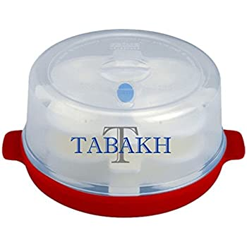 Prime 3-Rack Microwave Idly Maker by Tabakh, Makes 12 Idlis