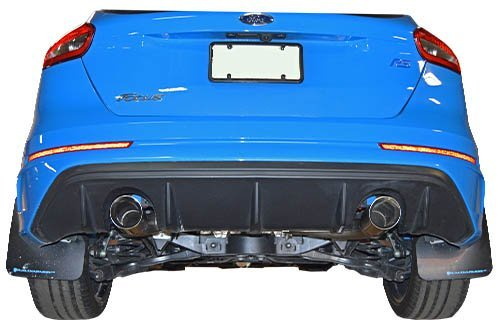 Amazon.com: 2016-2018 Ford Focus RS MRT Muffler Delete Cat-Back Performance Exhaust System: Automotive