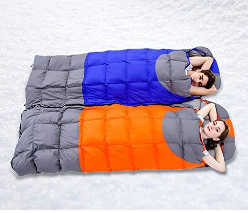 JKLL Saco de Dormir para Uso Interior y Exterior. Ideal para niños, niños, niñas, Adolescentes y Adultos. Las Bolsas ultraligeras y compactas Caminatas, ...