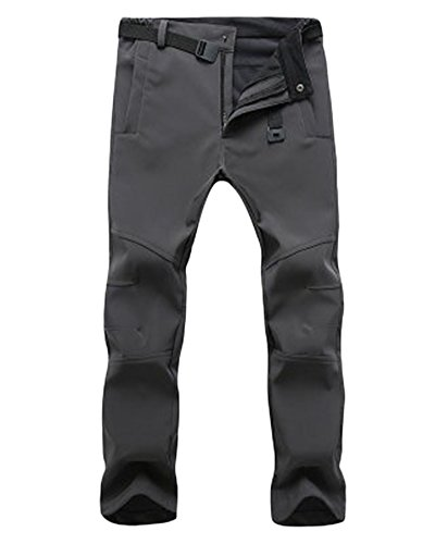 Pants Men's Trousers Resistant Outdoor ski Men Warm Keep Thickened ZongSen Gray Women's Climbing Breathable Wear Waterproof v1xf41
