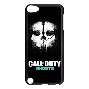 iPod 5 Case,Call of Duty Ghosts Hard Snap-On Cover Case for iPod Touch 5, 5G (5th Generation)
