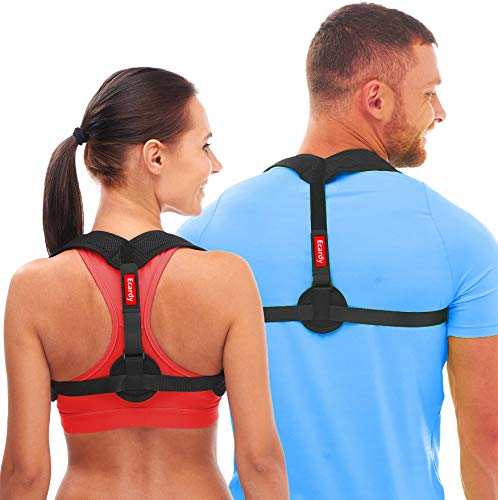 Back Posture Corrector for Women & Men - Effective and Comfortable Posture Brace for Slouching & Hunching - Discreet Design - Clavicle Support (Universal)