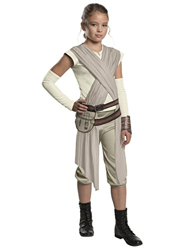 Rubie's Costume Co Unisex-Children Star Wars: Forces of Destiny Deluxe Rey of Jakku Costume -