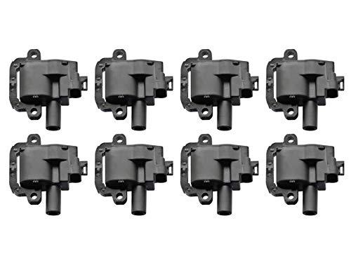 Packs Coil Ls1 (New Premium Ignition Coil Set (8) Replaces LS1 LS6 D580 C1144 UF192 12558948)