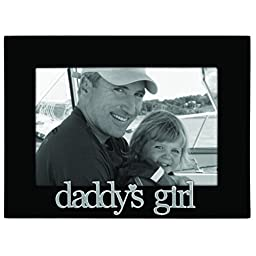Malden International Designs Daddy\'s Girl Expressions Picture Frame, 4x6, Black