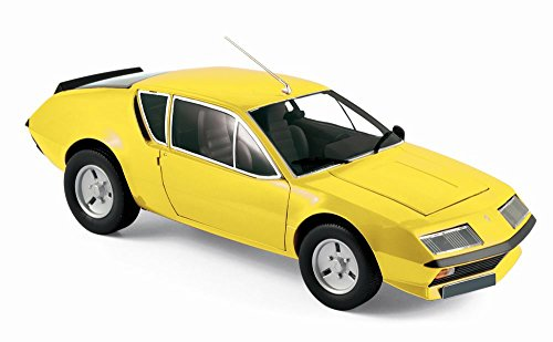 18th Yellow Scale - Norev NV185143 1 1977 Renault Alpine A310 - Yellow, 1:18 Scale