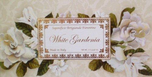 - Saponificio Artigianale Fiorentino White Gardenia 3 X 4.40 Oz. Soap Gift Set From Italy
