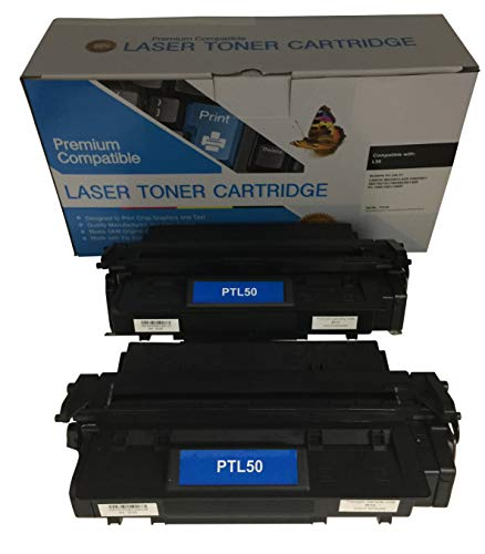 2 Compatible Black Cannon imageCLASS D861 L50 Printer Copy Ink Toner Cartridge Replacement for Canon L5O Image-Class D-861 All-in-one Multifunction Copier Machine 6812A001AA
