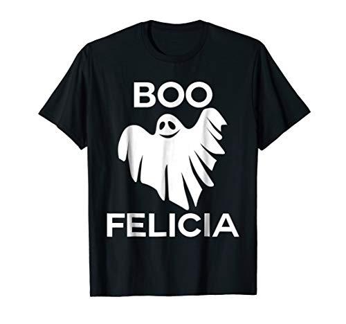Boo Felicia Funny Halloween T-Shirt