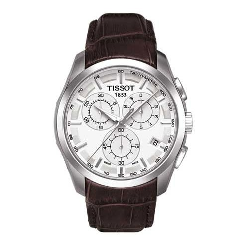 Buy tissot men watch leather