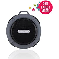 SoundBot SB512 HD Premium Water & Shock Resistant Bluetooth Wireless Shower Speaker (Multi Colors)