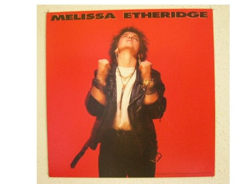 Melissa Etheridge Poster Flat Very Old
