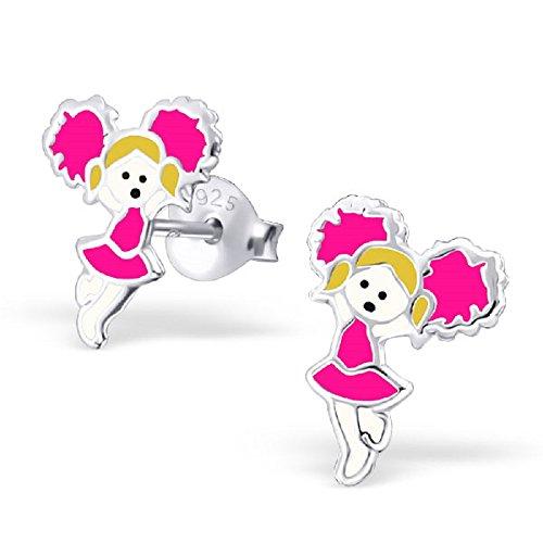 925-sterling-silver-pink-cheerleader-stud-earrings-22224