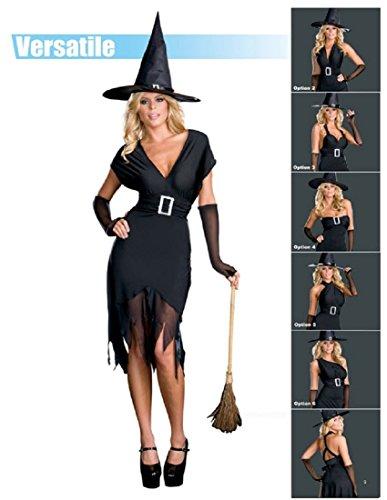 Dreamgirl Women's Hocus Pocus Costume,Black,Medium (Hocus Pocus Costume Shop)