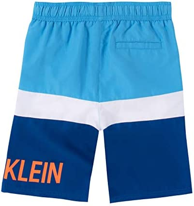 Calvin Klein Boys' Swim Trunk with UPF 50+ Sun Protection