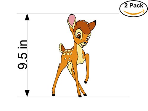 Bambi Sticker - Bambi 2 Stickers 9.5 Inches Inches Car Bumper Window Sticker Decal 38 1