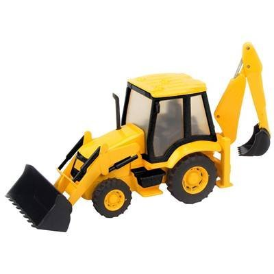 Mighty Toy Farm Series (Teamsterz Construction Series ~ Back Hoe Loader)