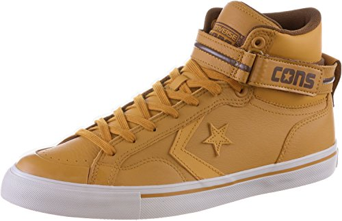 Converse Mens Pro Blaze Plus Mid Fashion Sneaker Shoes Antiqued / Chocolate / Mouse Brown - Brown