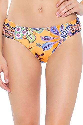 Becca-by-Rebecca-Virtue-Womens-Tapestry-Bloom-Tab-Side-Hipster-Bikini-Bottom