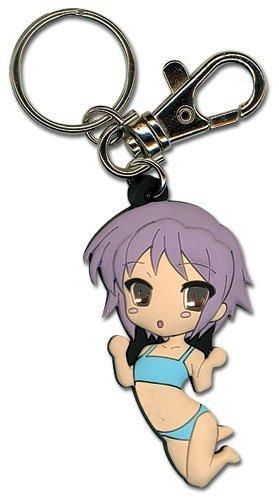 (Great Eastern Entertainment Haruhi Suzimaya Yuki SD PVC Keychain)