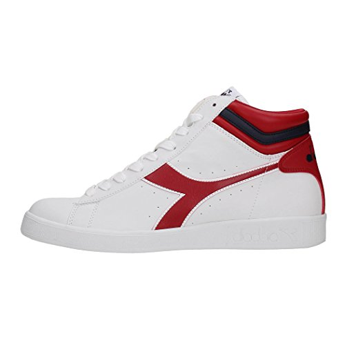 DIADORA GAME P HIGH - 38- WHITE/CHILI PEPPER