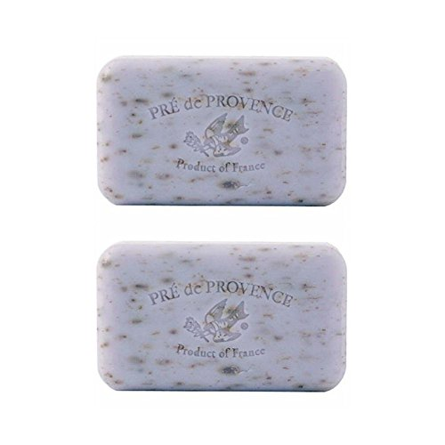 Pre De Provence Lavender Soap, 150g wrapped bar. Imported from France (Pack of 2)