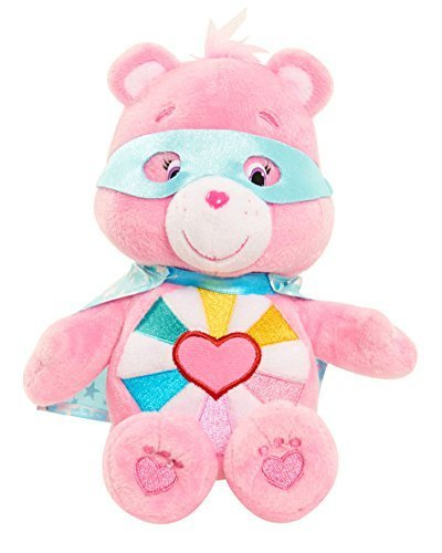 Care Bears Superhero Friends Hopeful Heart (Heart Care Bear Plush)