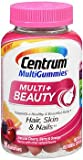 Centrum MultiGummies Multi+ Beauty Natural Cherry Berry And Orange – 90 Gummies, Pack of 5 Review