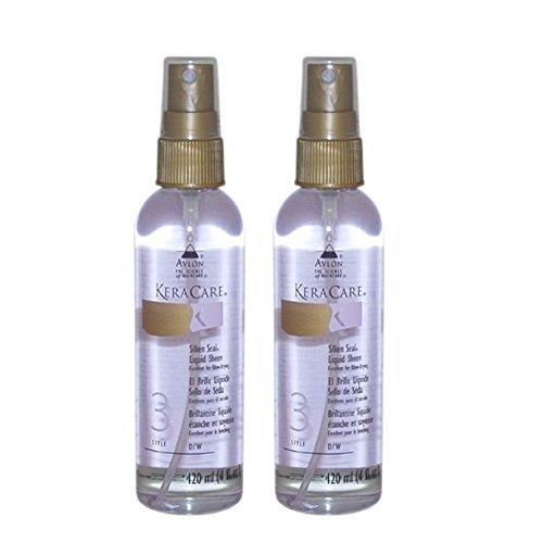 Avlon Keracare Silken Seal Liquid Sheen By, Set of Two (4 Oz Each)