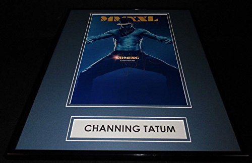 Channing Tatum Signed Framed 16x20 Photo Poster Display AW Magic Mike