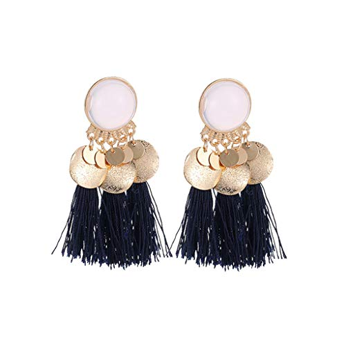 Bohemian Ethnic Retro Geometric Long Tassel Pendant Earrings Ladies Jewelry,Outsta 2019 New Fashion Jewelry Hot Sale!Under 5 Dollars Gifts for Her]()