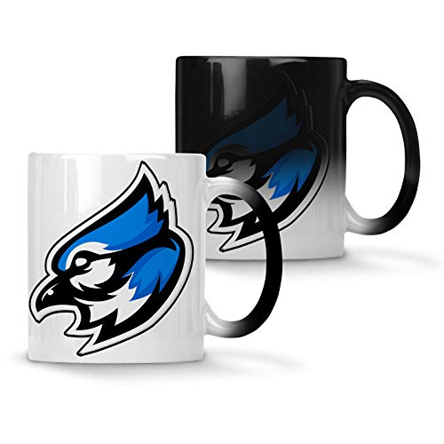 Blue jay mascot logo Colour changing 11oz Mug u623w