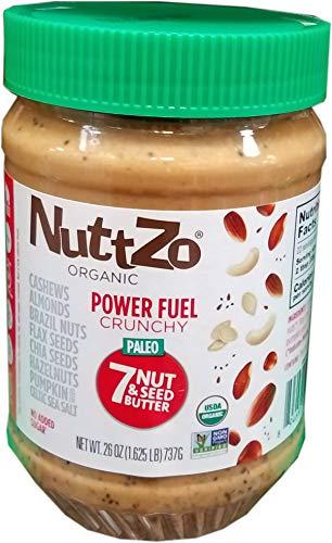 Nuttzo Organic Crunchy 7 Nut And Seed Butter (26 Ounce), 26 Ounce