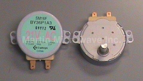 GE Microwave Turntable Motor 2.5/3 rpm ST16FE EX73SAAA3 WB26X10038 by GE from HOME-APP
