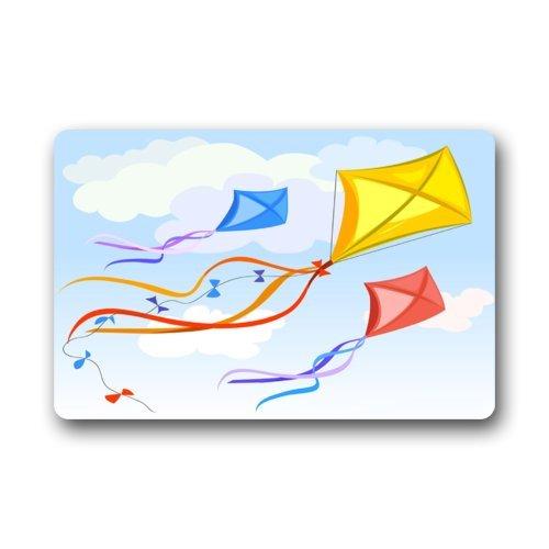 ul Kite Flying In The Sky Indoor/Outdoor Floor Mat-23.6