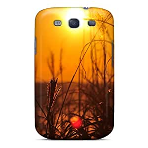 CaseFactory Perfect Tpu Case For Galaxy S3/ Anti-scratch Protector Case (sunset Landscapes Nature)