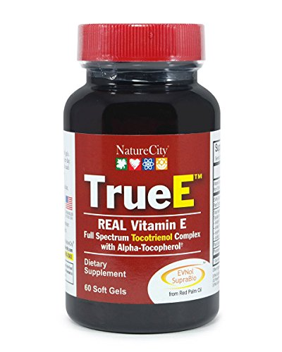 True E Full Spectrum Tocotrienol Complex – Helps Boost & Maintain Cardiovascular Health – 60 Soft Gels For Sale