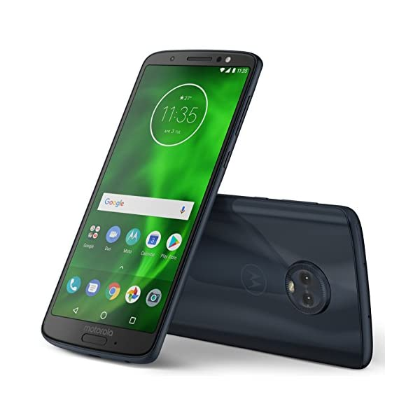 Moto G6 (Indigo Black, 4GB RAM, 64GB Storage)